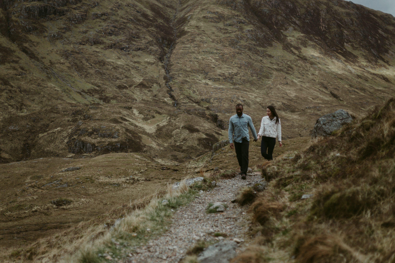 Yohanna and Imho Scottish Highlands Scotland Glencoe story