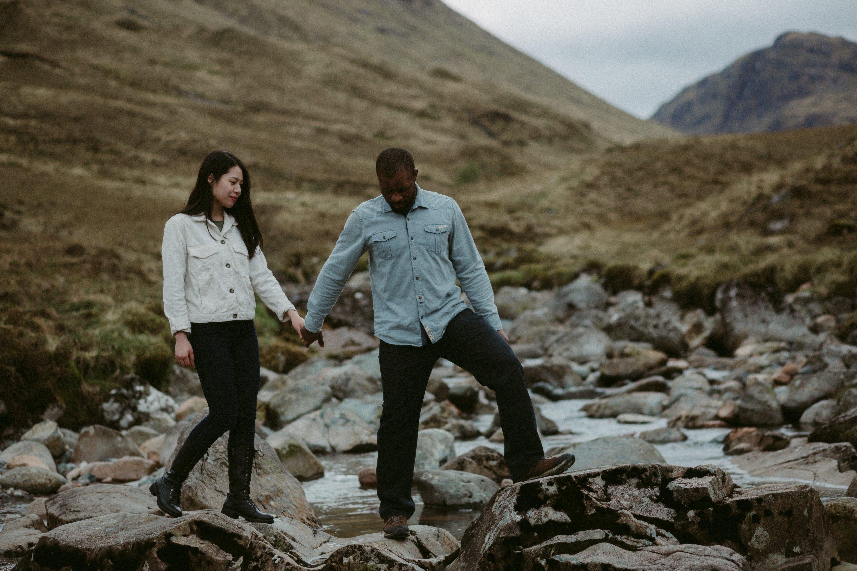 Yohanna and Imho Scotland Glencoe
