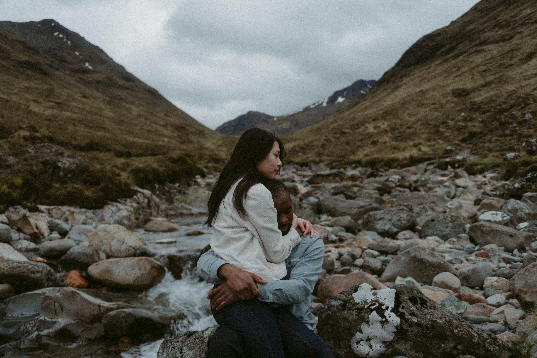 Yohanna and Imho Scottish Highlands Scotland Glencoe