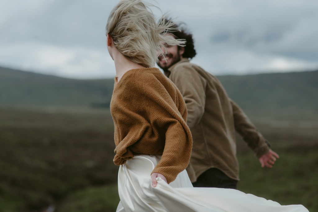 Intimate Vow Renewal Scotland elopement Photographer 2