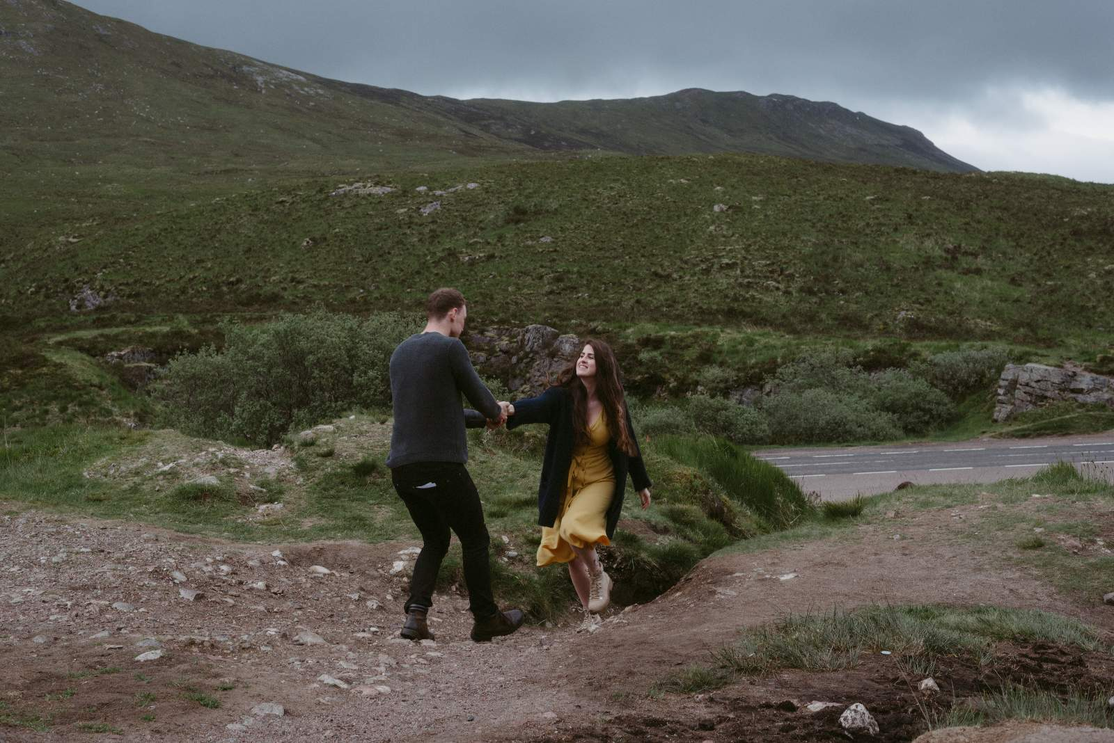 Scotland Elopement and wedding photographer Glen Etive 150