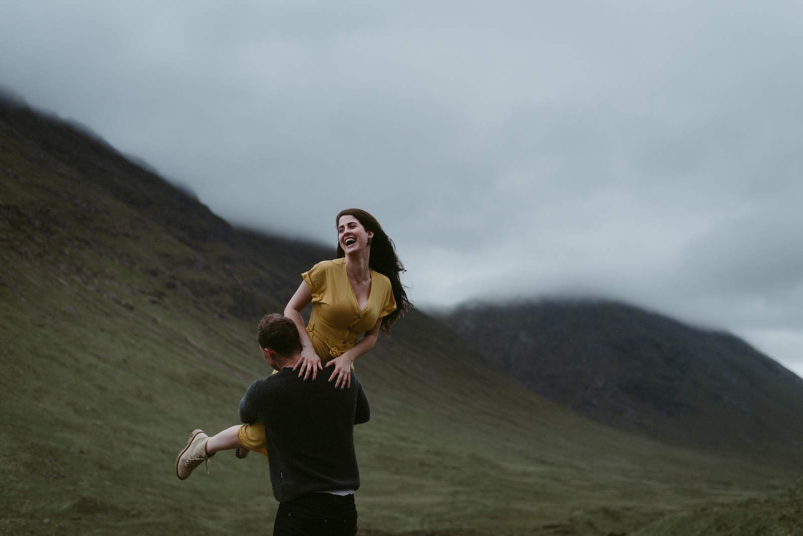 Scotland Elopement and wedding photographer Glen Etive 213
