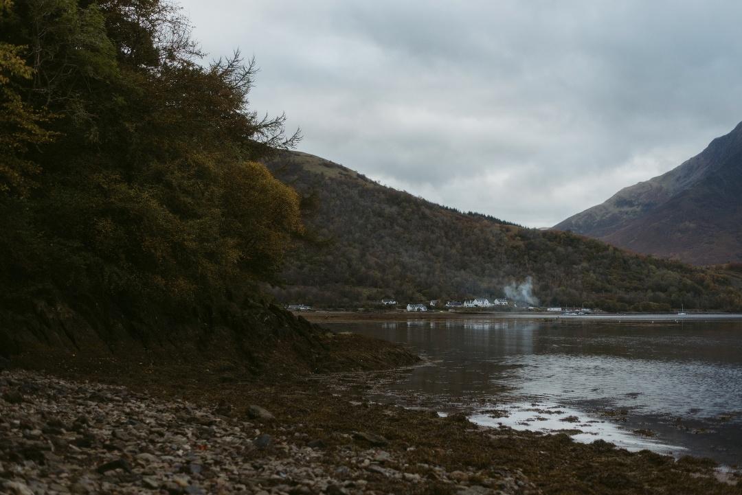 Engagement photographer Glencoe Waterfall Scotland Elopement Wedding _Chloe & Caleb-4