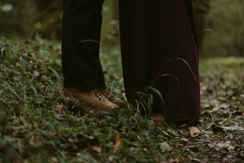 Engagement photographer Glencoe Scotland Elopement Wedding Grey Mare's Waterfall _Chloe & Caleb-101