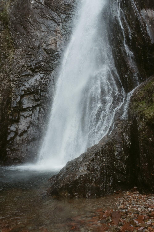 Engagement photographer Glencoe Scotland Elopement Wedding Grey Mare's Waterfall _Chloe & Caleb-62