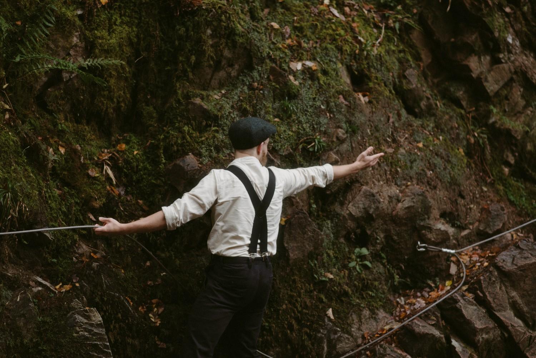 Engagement photographer Glencoe Scotland Elopement Wedding Grey Mare's Waterfall _Chloe & Caleb-82