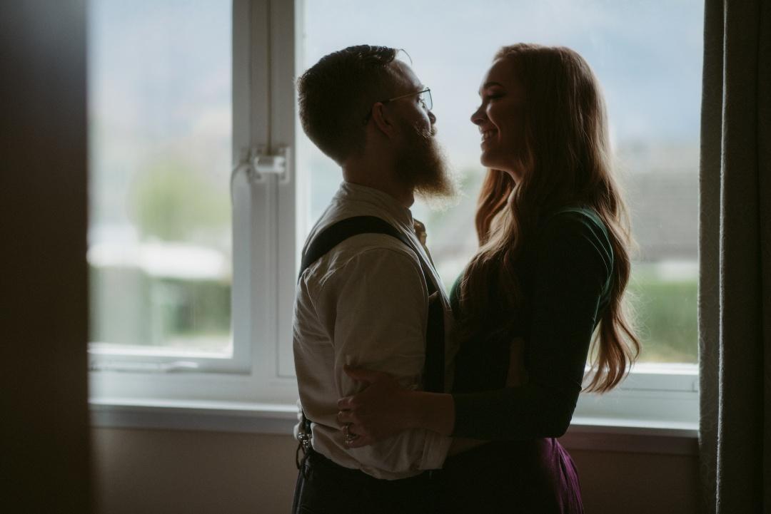 Engagement photographer Glencoe Waterfall Scotland Elopement Wedding _Chloe & Caleb-18