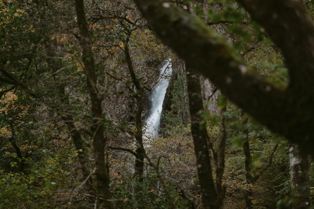 Engagement photographer Glencoe Waterfall Scotland Elopement Wedding _Chloe & Caleb-97