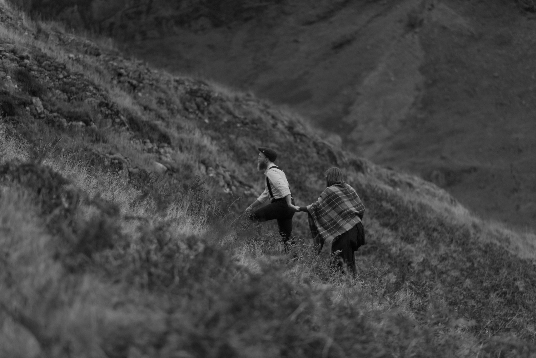 Scotland Engagement photographer Glencoe Elopement Wedding Grey Mare's Waterfall _Chloe & Caleb-139