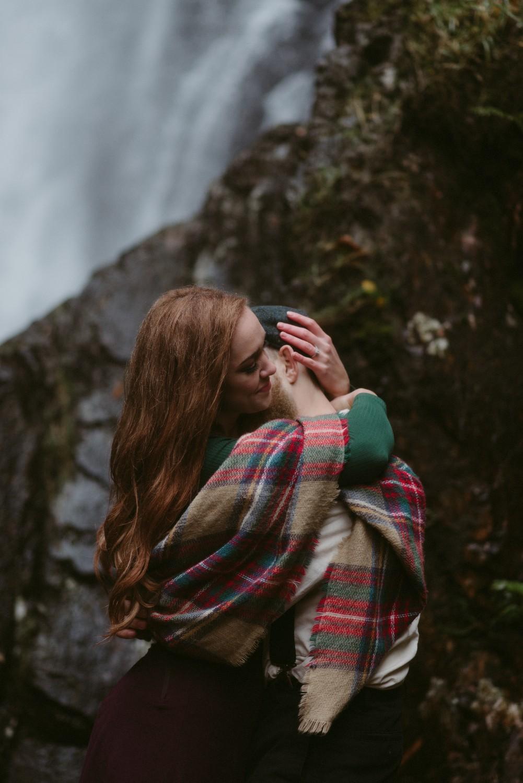 Scotland Engagement photographer Glencoe Elopement Wedding Grey Mare's Waterfall _Chloe & Caleb-91