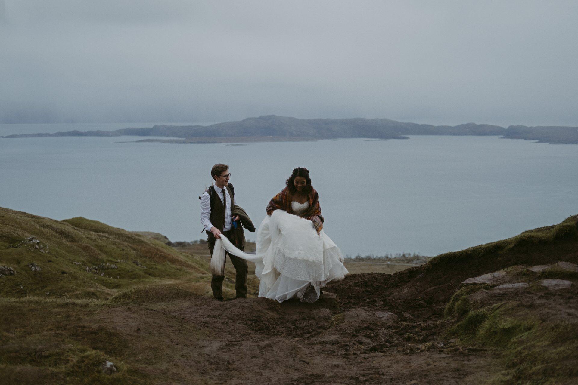 Quiraing Elopement Isle of Skye 328