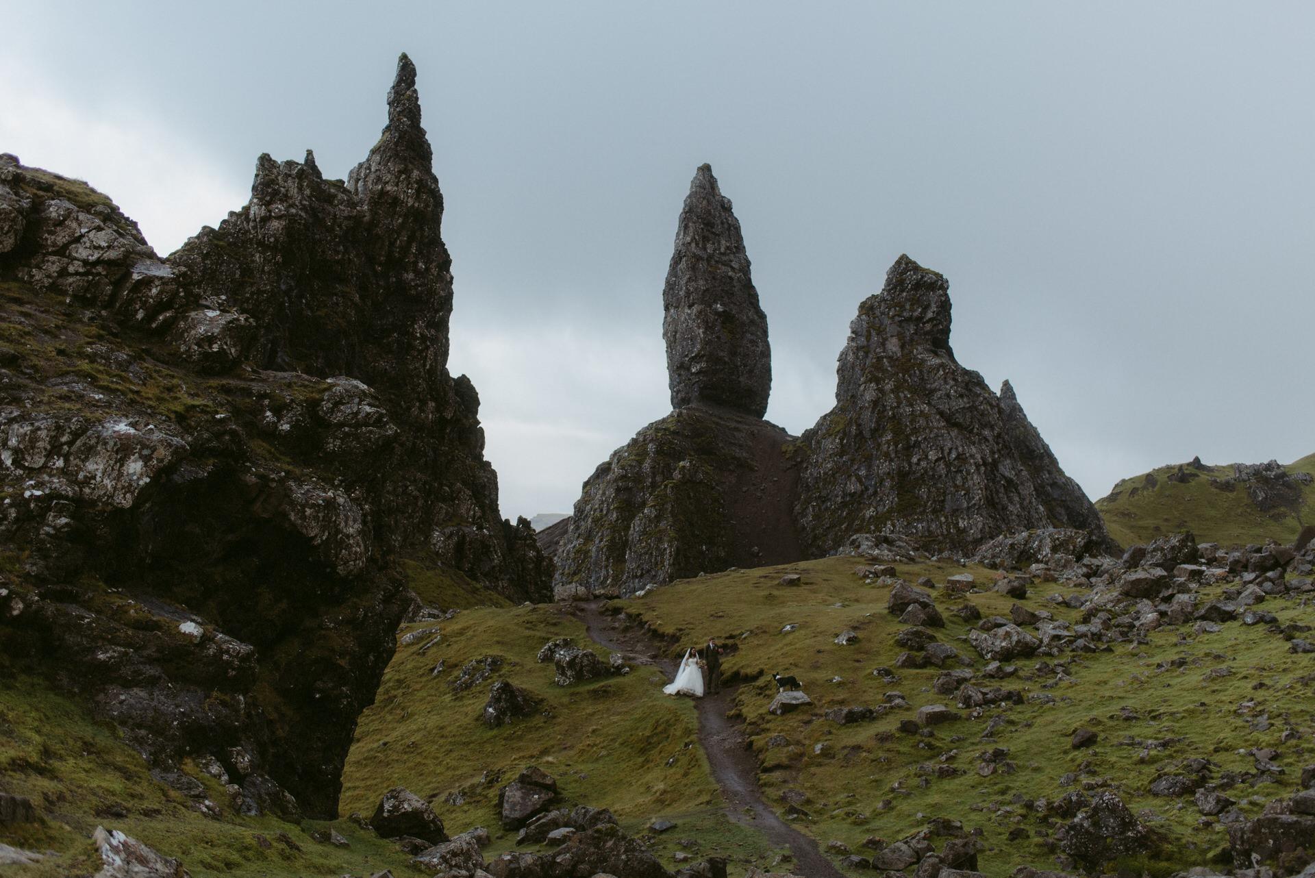 Quiraing Elopement Isle of Skye 341
