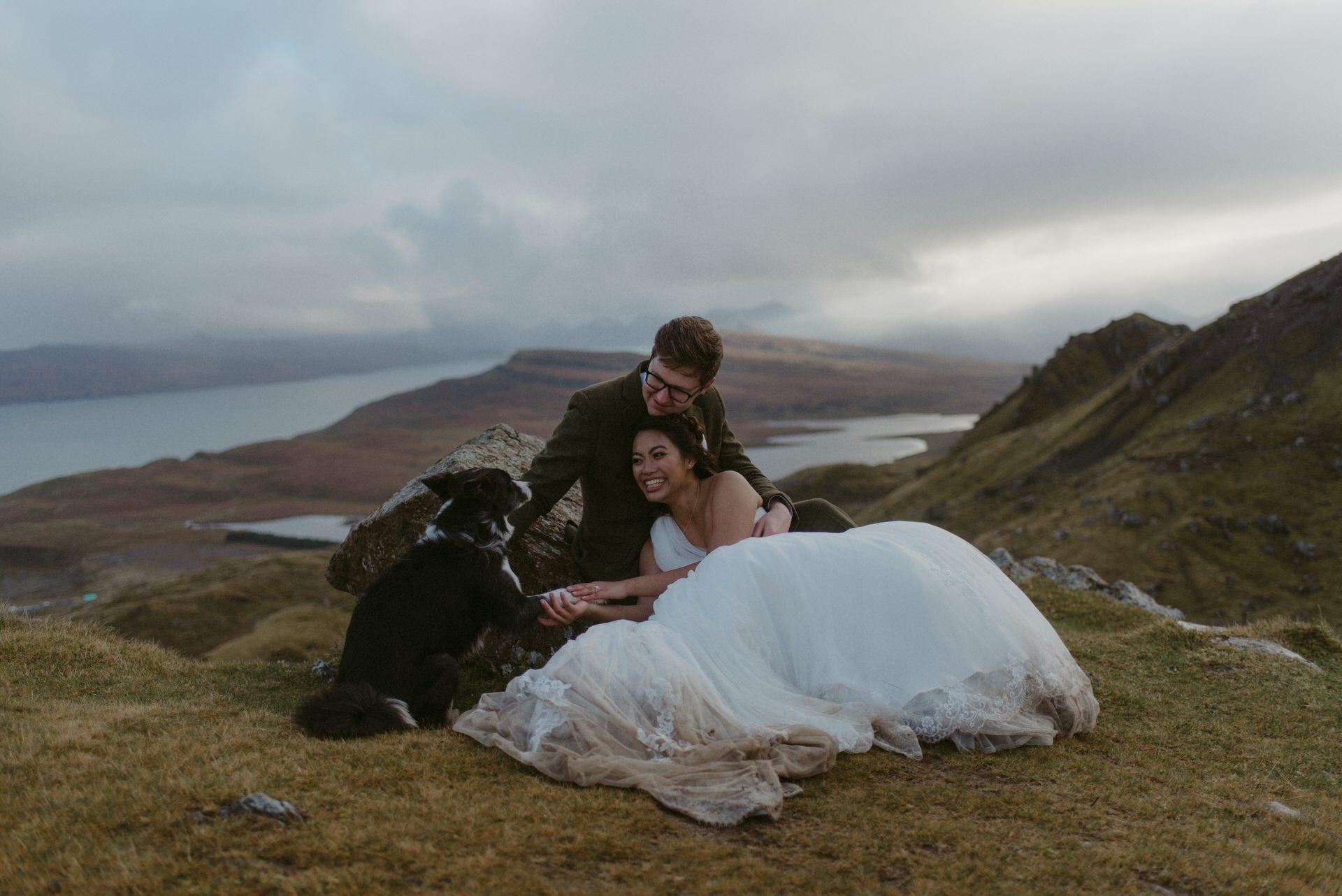 Quiraing Elopement Isle of Skye 413