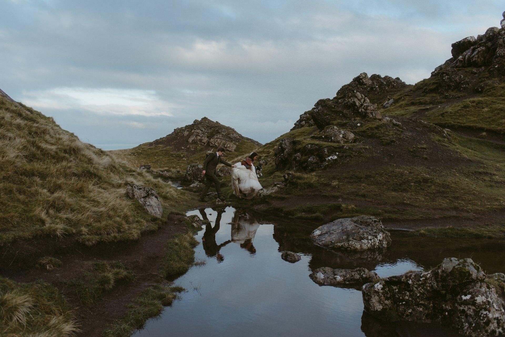 Quiraing Elopement Isle of Skye 454
