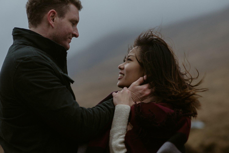 Surprise marriage proposal Glencoe 19