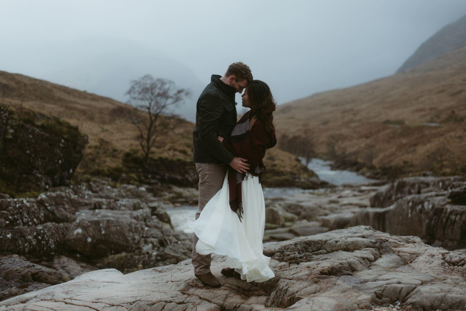 Surprise marriage proposal Glencoe 13