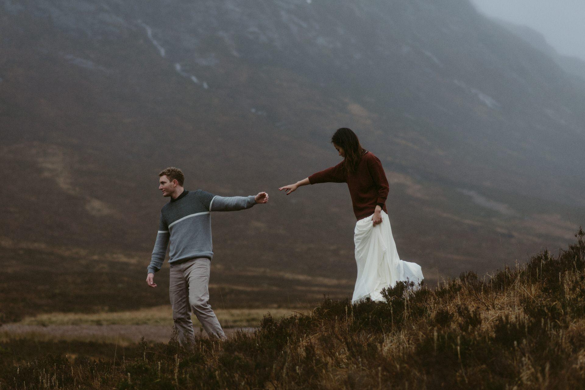 Surprise marriage proposal Glencoe 26